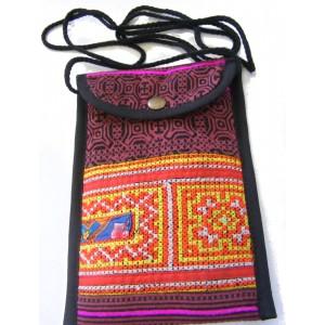 Akha Thai Hill Tribe Embroidered Tribal Bag - Fair Trade