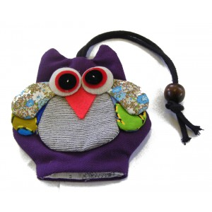 Cute Owl Design Key Holder / Key Case - Fair Trade