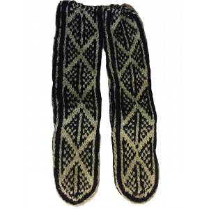 Afghan Slipper Socks -Genuine  - Fair Trade - Handknitted